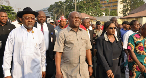 Wike Leading Protest
