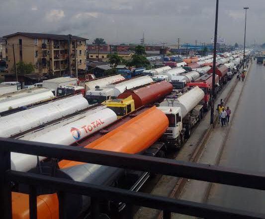 One dead as petrol truck suffers brake failure