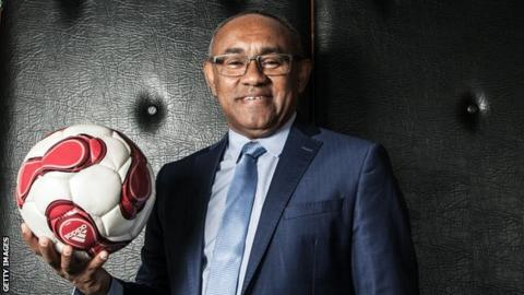Ahmad Ahmad, CAF President. [Photo: BBC]