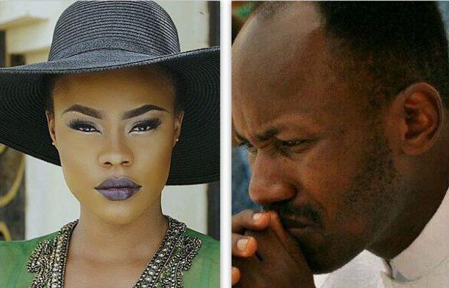 Daniella-Okeke-and-Apostle-Johnson-Suleman