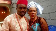 Emeka Ike and wife [Photo credit: Qed.ng]