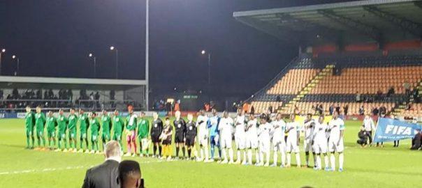 International friendly between Nigeria vs Senegal [Photo: Naij.com]