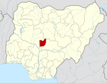 Abuja on map