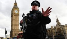 Police at Westminster [Photo Credit: Daily Express]