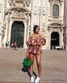 Take a fashion cue from singer_fashion enterprenuer Mo'Chedda's look