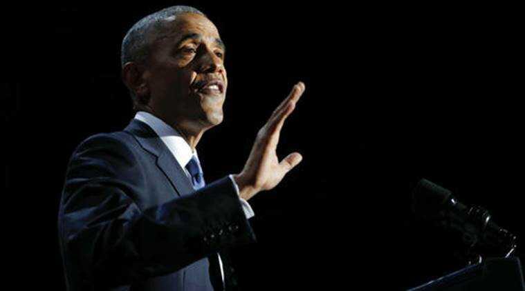 Former U.S President, Barack Obama [Photo Credit: indianexpress.com]