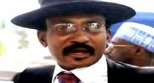 Colonel Abubakar Dangiwa Umar