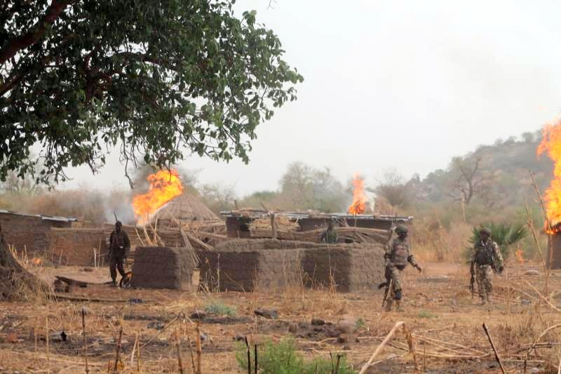 Nigerian soldiers raid Boko Haram camps, kill six
