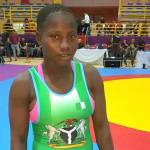 Nigerian Army female wrestler wins gold at African Championship