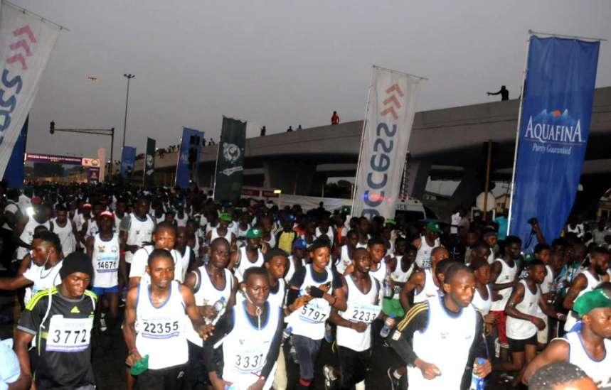 Image from Lagos City Marathon