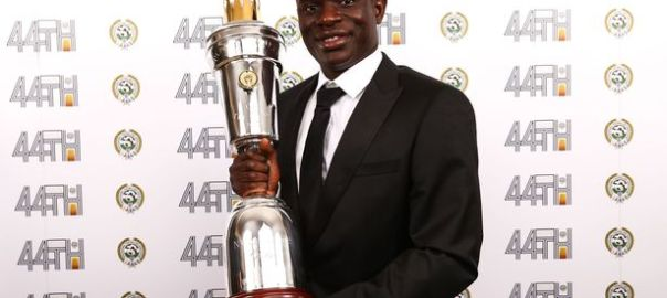 Kante beats Hazard, others to emerge PFA Player of The Year