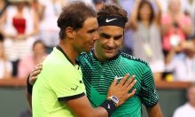 Nadal and Federer [Photo: The Guardian]
