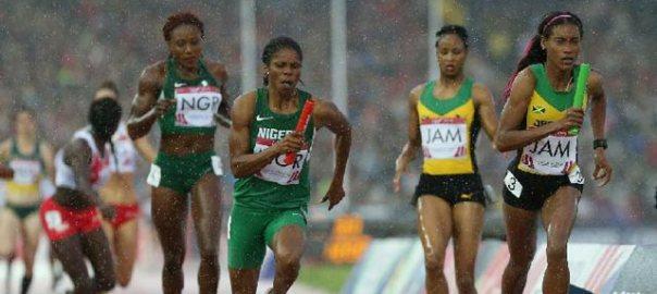 Nigeria-womens-relay-team