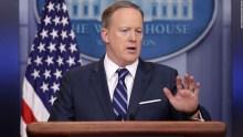 WhiteHouse Spokesperson, Sean Spicer [Photo Credit: CNN]