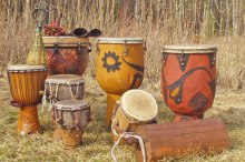 African drums [Photo: Spirit Tourism]