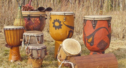 African drums [Photo: Spirit Tourism]