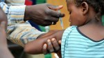 Vaccination used to illustrate the story