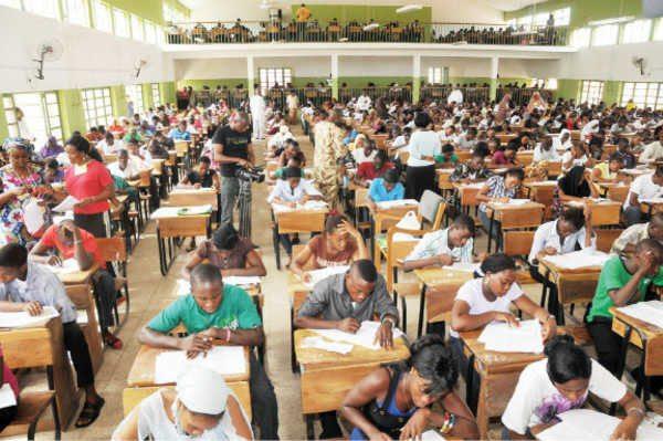 External Student Writing WAEC