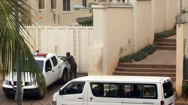 Police raid on Senator Goje's house