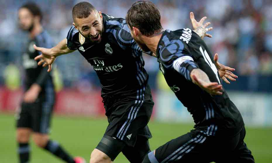 Real Madrid wins the La Liga Championship