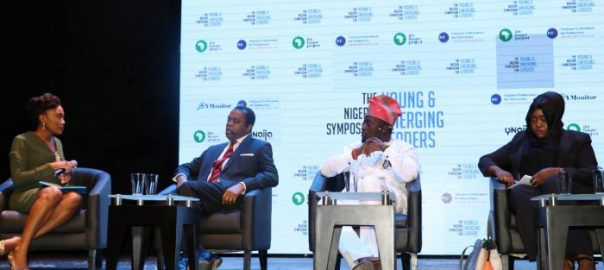 Donald Duke, former governor of Cross River State, speaking during his panel session titled office of the citizen