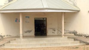 One of the dilapidated Primary Healthcare centres in Kuduru