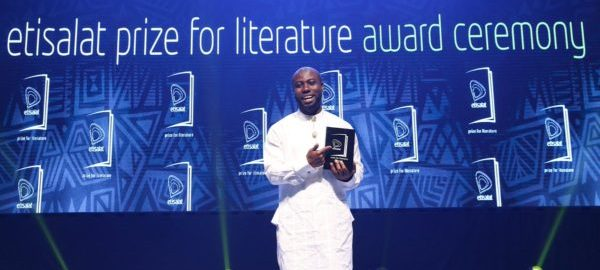 Jowhor Ile winner of Etisalat Literature Prize (Photo Credit: NAN)