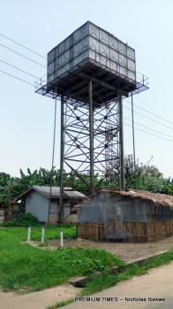 An abandoned water plant in Kpea, near Bori, Ogoniland