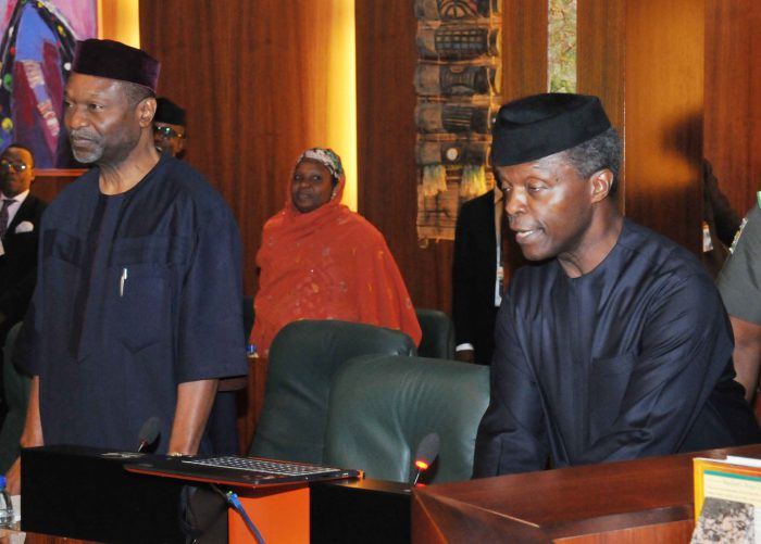 You are a system stabilizer, 36 Governors tell Acting President Osinbajo