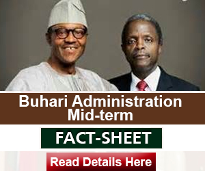 Factsheet Buhari advert