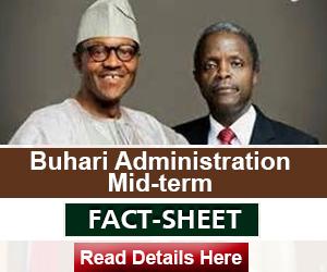 Factsheet Buhari advert