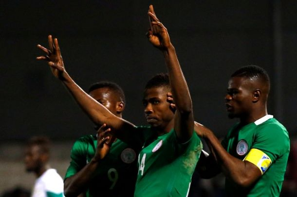 Iheanacho Rescues Super Eagles From Corsica Defeat; Odey, Onyekuru Debut