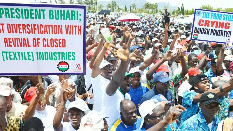 Buhari assures Nigerian workers of speedy passage of new minimum wage
