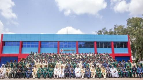 Graduation Ceremony of Command & Staff College, JAJI, Senior Course 39.14