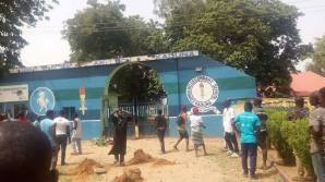 Scene of the shooting at Command Secondary School Junction, Nnamdi Azikiwe Way, Kaduna
