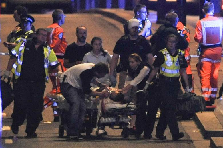 Scene of the attack (Photo Credit: Heavy.com)