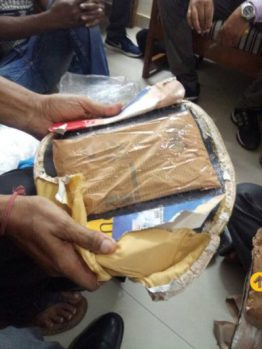 Drugs found in Chinedu's possession