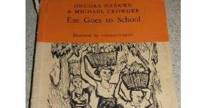 Eze Goes to School book cover