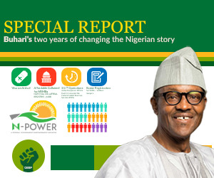Buhari scorecard advert