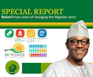 Buhari scorecard advert