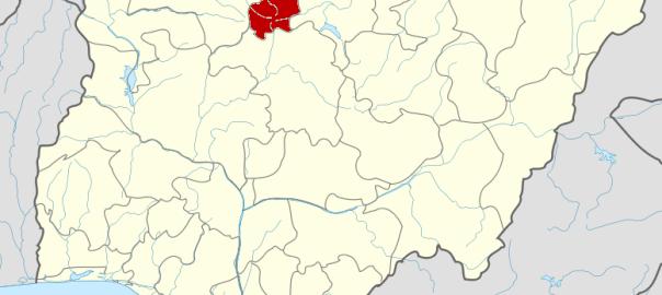 Katsina State on map