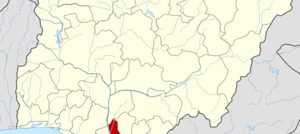 Nigeria Anambra State map