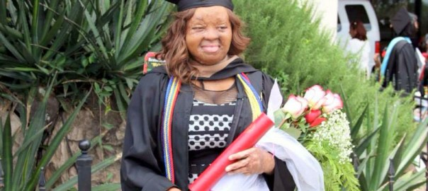 Nkechi Okwuchi during her graduation