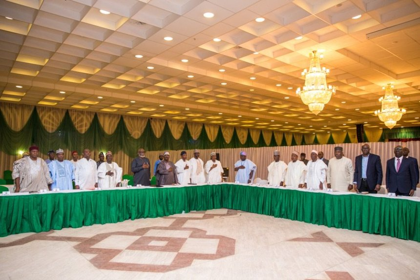 Osinbajo with governors
