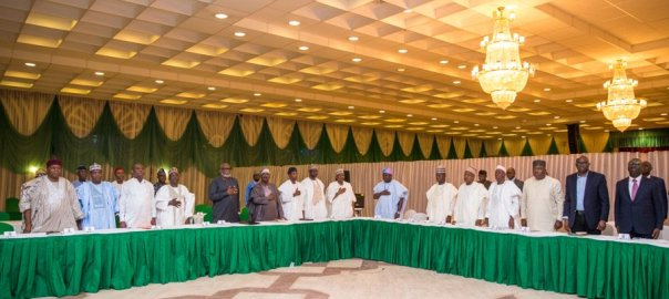 Osinbajo with governors