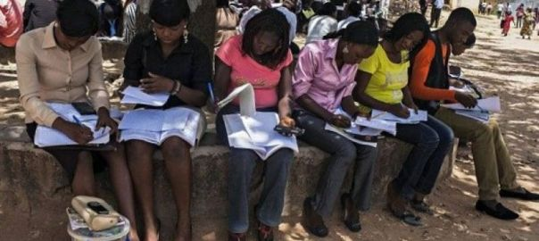 A cross section of women studying [Photo: Ask Naij.com]