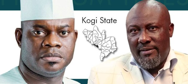 Governor Yahaya Bello of Kogi State and the Senator Dino Melaye of Kogi West Senatorial District