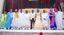 Chief Bisi Akande Daughter's Wedding.3