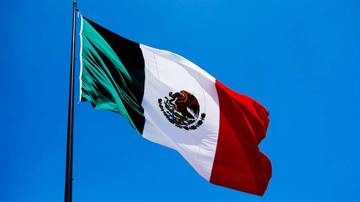 Mexican flag used to illustrate the story