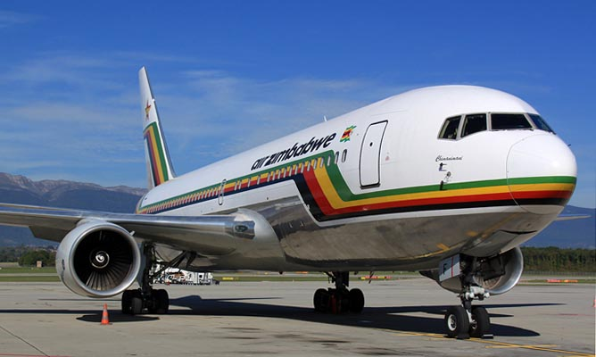 Air Zimbabwe [Photo Credit: NewsDay Zimbabwe]